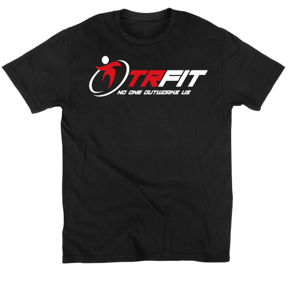 TR Fit Shirt - No One Outworks Us - Black